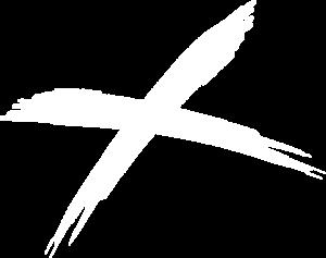 A white Cross similar to Scotland's Saltire