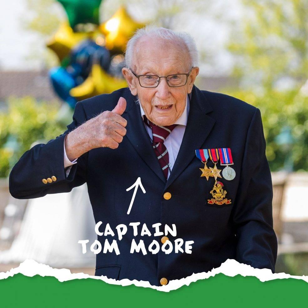 Captain Tom Moore 2020