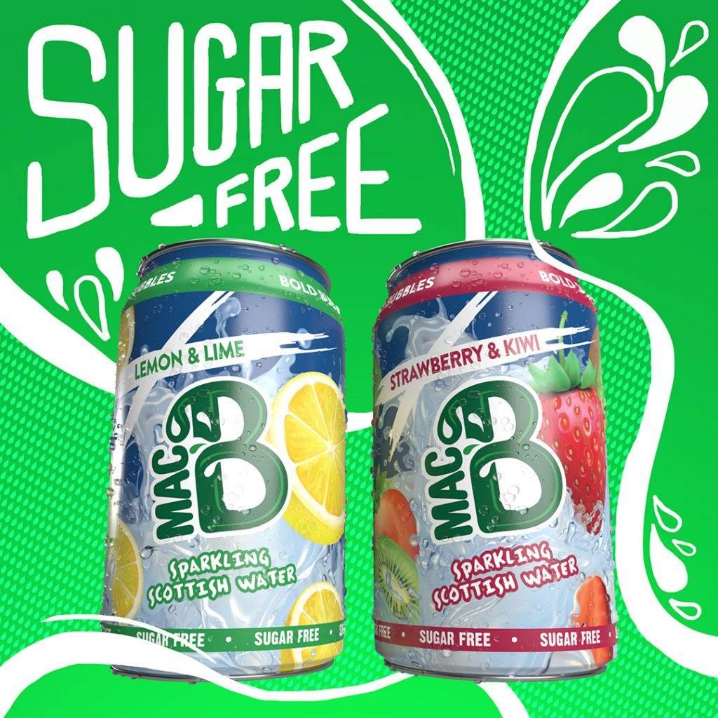 Sugar Free Sparkling Flavoured Macb Spring Water